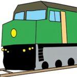 Runaway Easter Train