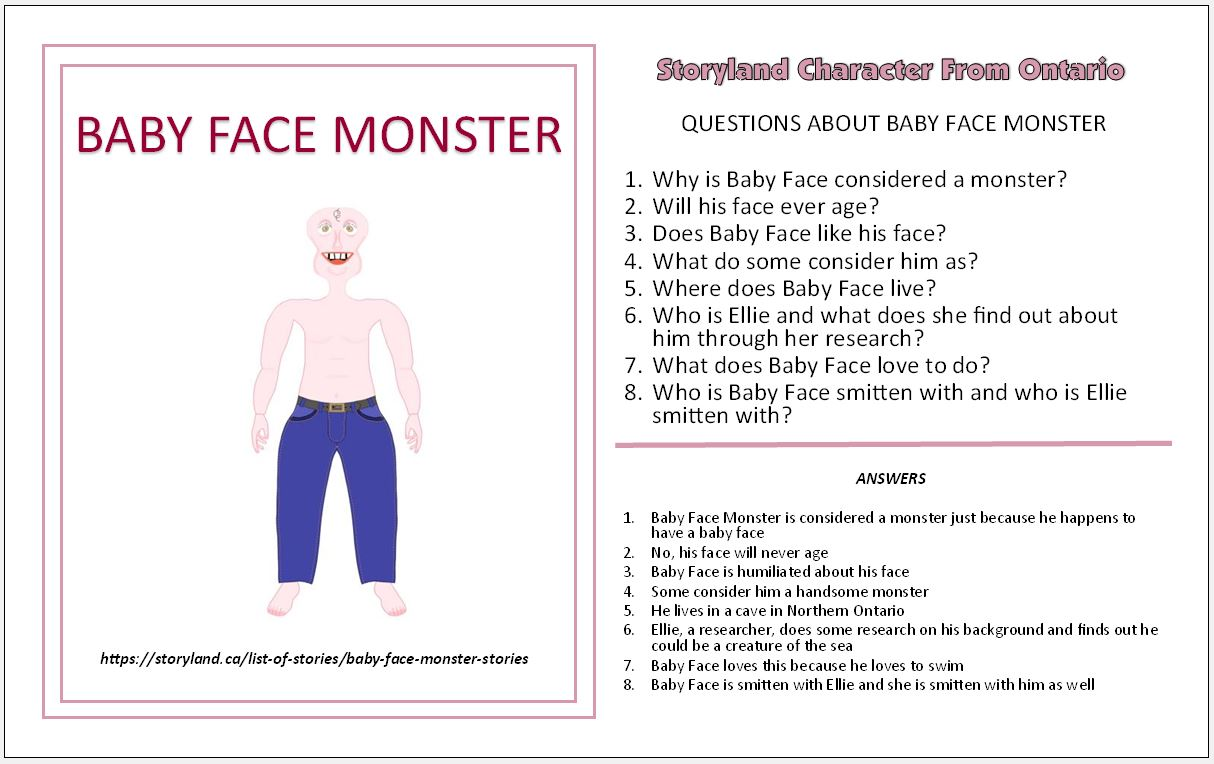 Baby Face Monster Stories
