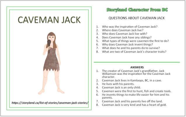 Caveman Jack Stories