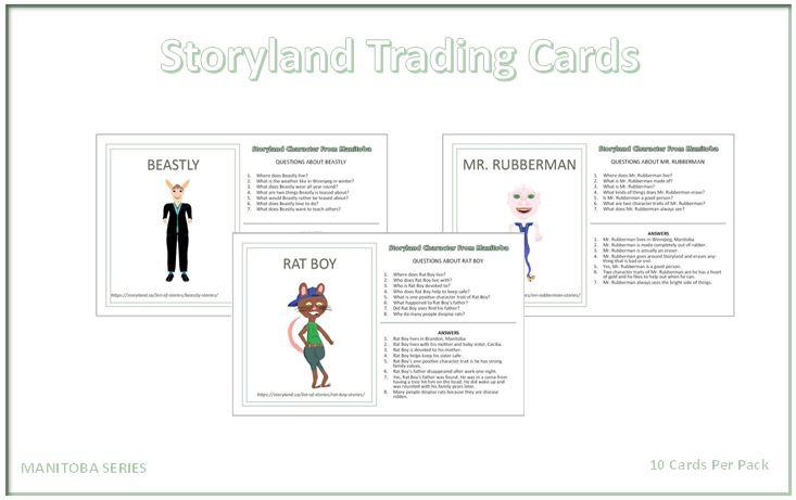 Manitoba Series - Storyland Trading Cards