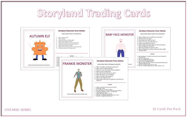 Ontario Series – Storyland Trading Cards
