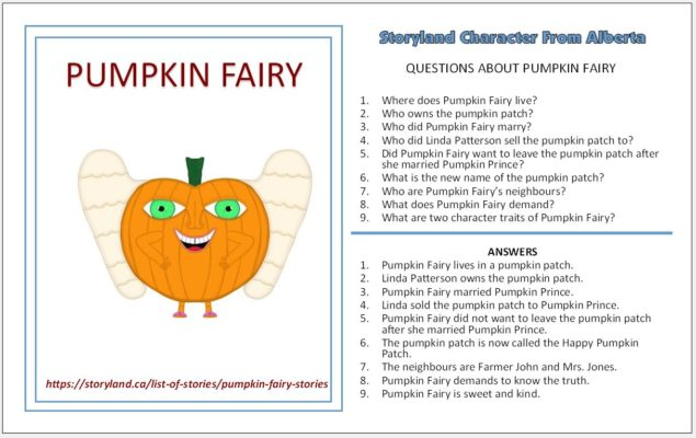 Pumpkin Fairy Stories