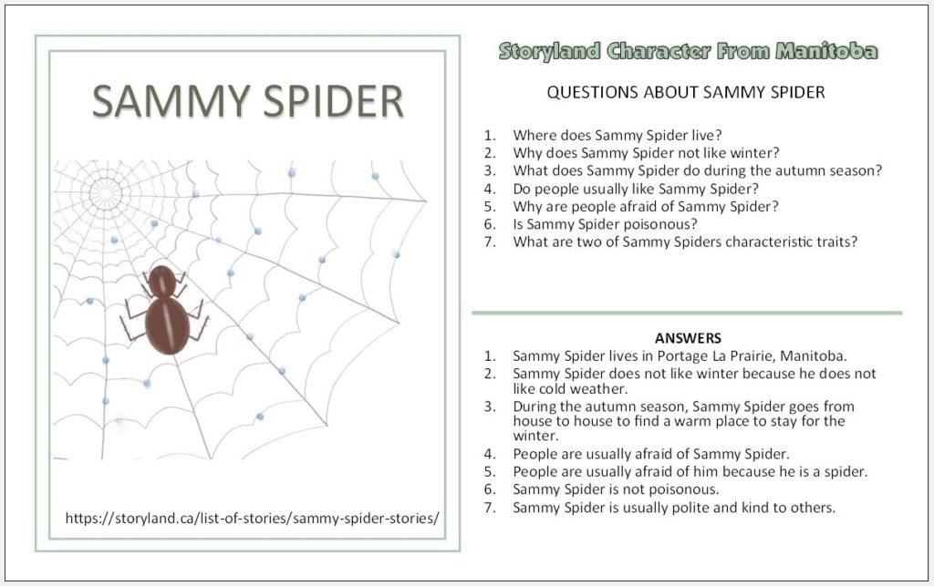 Sammy Spider Stories