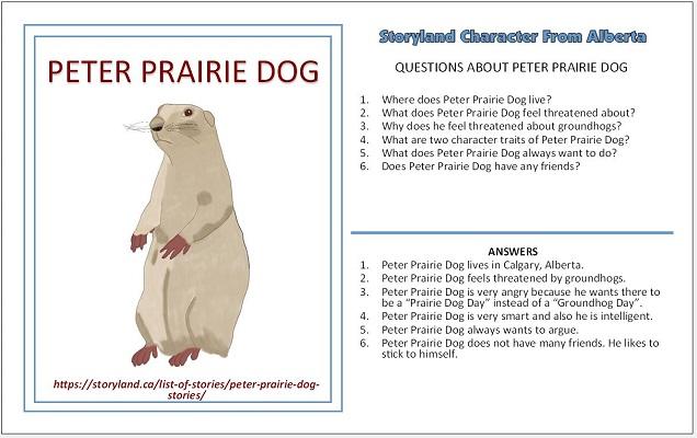 Peter Prairie Dog - Advertising