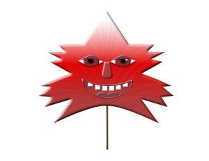 Mr. Red Leaf