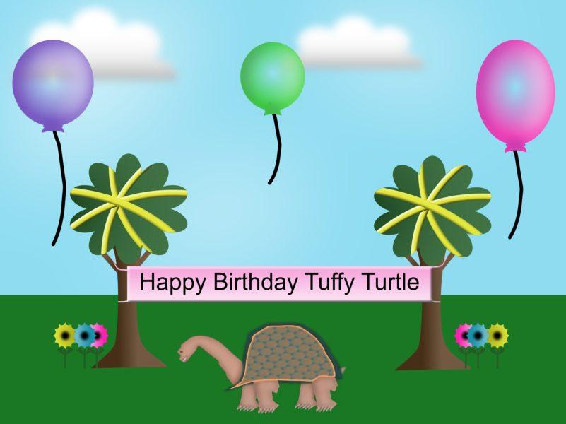 Tuffy Turtle Birthday