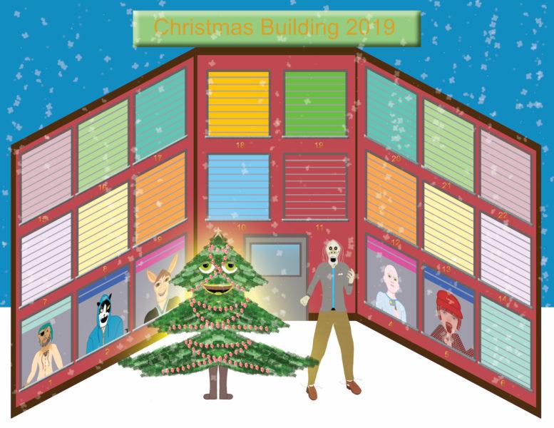Christmas Building 2019 - Frankie