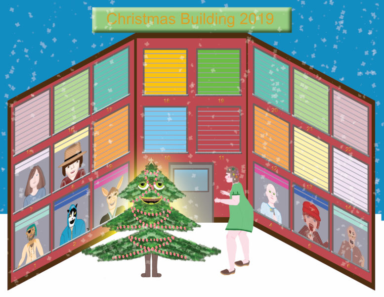 Christmas Building 2019 - Franny Granny