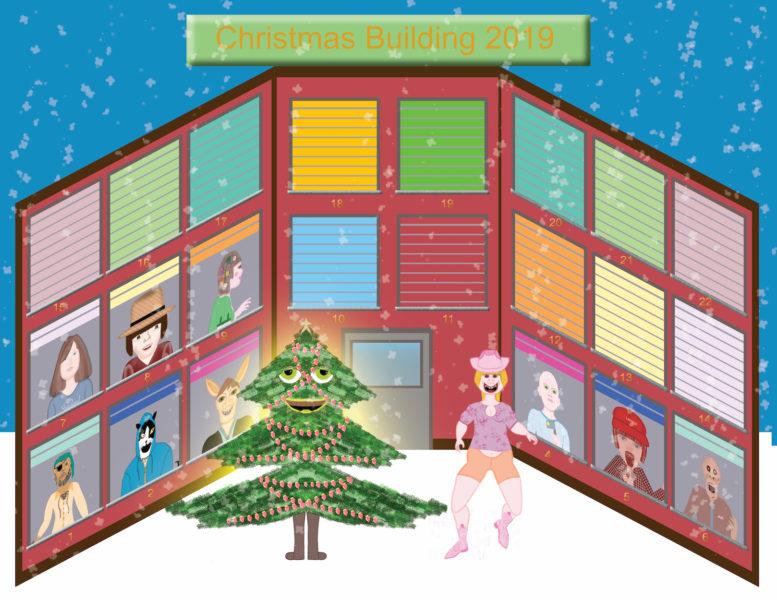 Christmas Building 2019 - Gertie