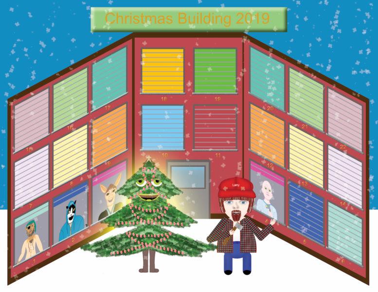 Christmas Building 2019 - Larry the Lumberjack