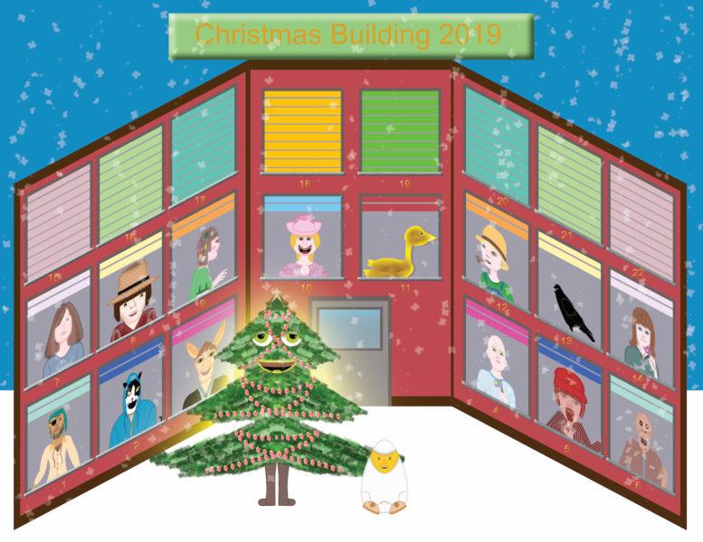 Christmas Building 2019 - Mr. Egghead