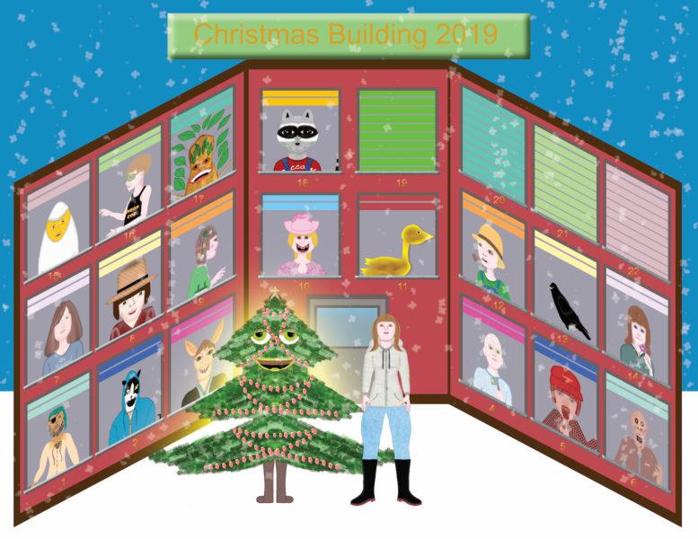 Christmas Building 2019 - Rancher Girl