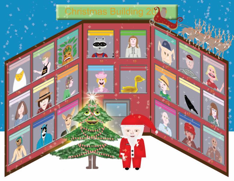 Christmas Building 2019 - Santa Claus