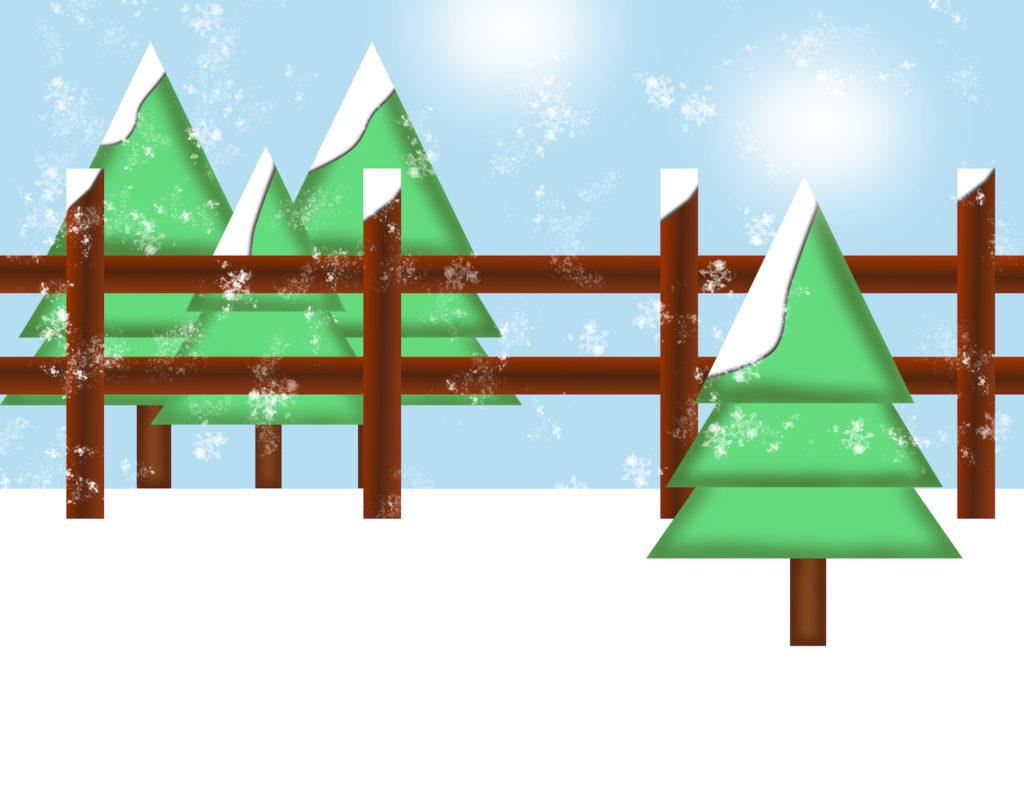 Storyland - winter scene