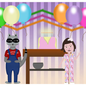 Birthday Scene 1 character