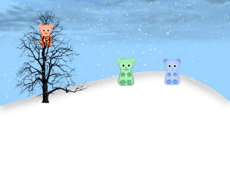 Winter Jellies Scene