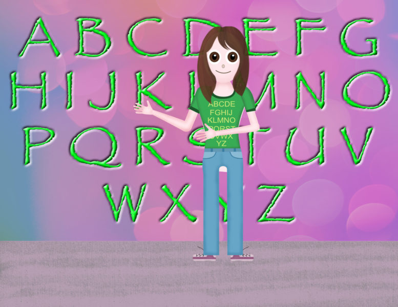 Alphabet Allie Scene